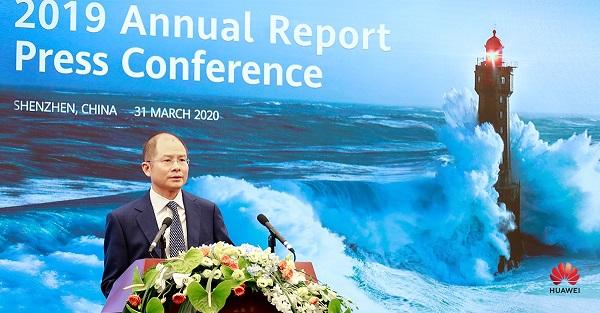 Huawei 2019 Annual Report by Eric Xu - Huawei Rotating CEO