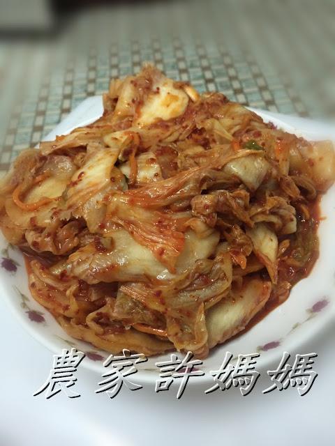 許媽媽VS金媽媽韓式泡菜