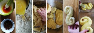 Fluffige Lussekatter (Safran-Schnecken zum Luciafest)