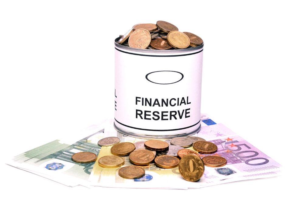 sparen voor financiële reserves