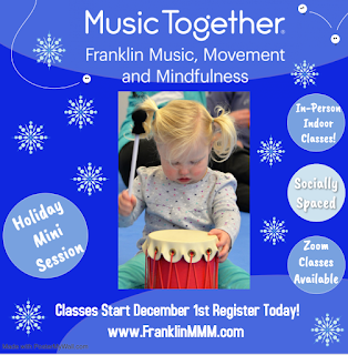 Registration is open for Holiday Mini Music Together Session