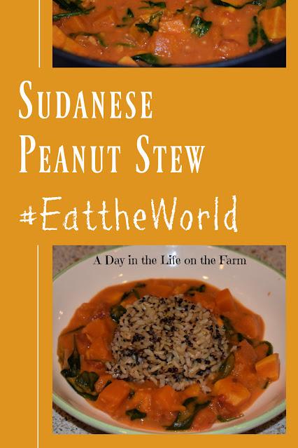 Sudanese Peanut Stew pin