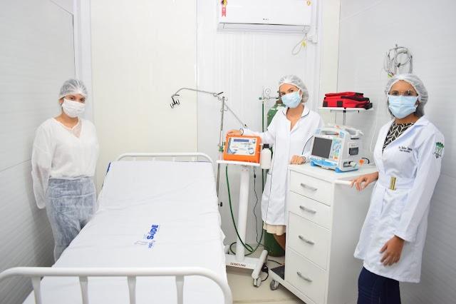 Hospital de Campanha de Macau sem paciente de covid-19