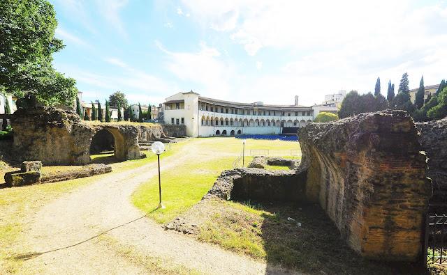 Anfiteatro romano de Arezzo, Toscana