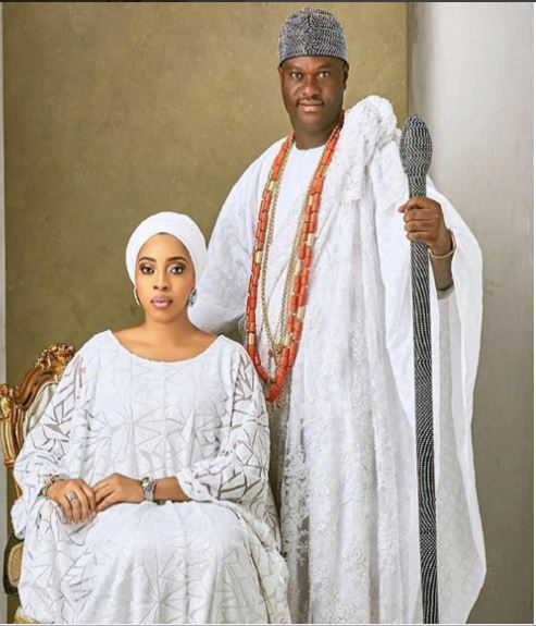 Actress Georgina Onuoha Pours Encomium on The Ooni For Knowing the Place of A Woman