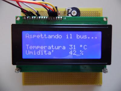 Display LCD 20x4 - foto di Paolo Luongo