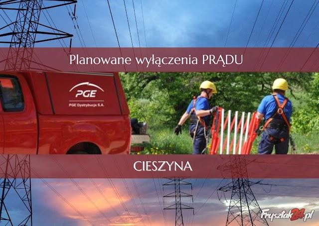 13 kwietnia wyłączą prąd w Cieszynie