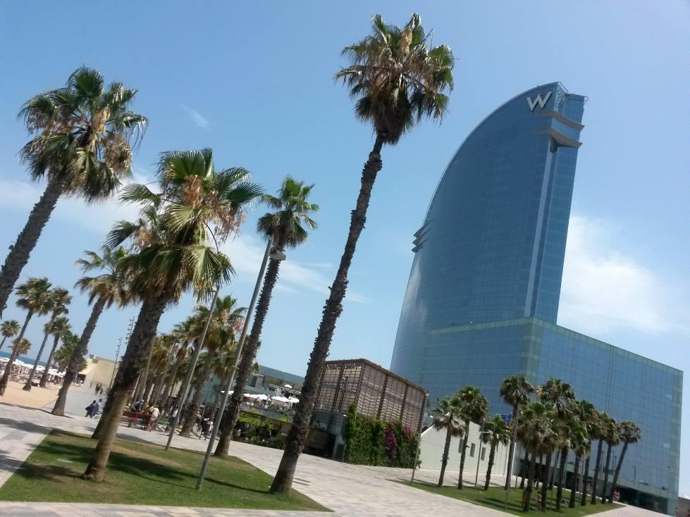 barcelona webcam w hotel