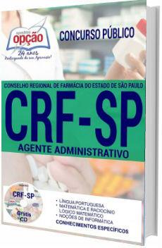 Apostila concurso CRF-SP 2017 Agente Administrativo