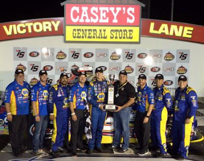 The Bill McAnally Racing Team is on Fire! #nascar #knwest