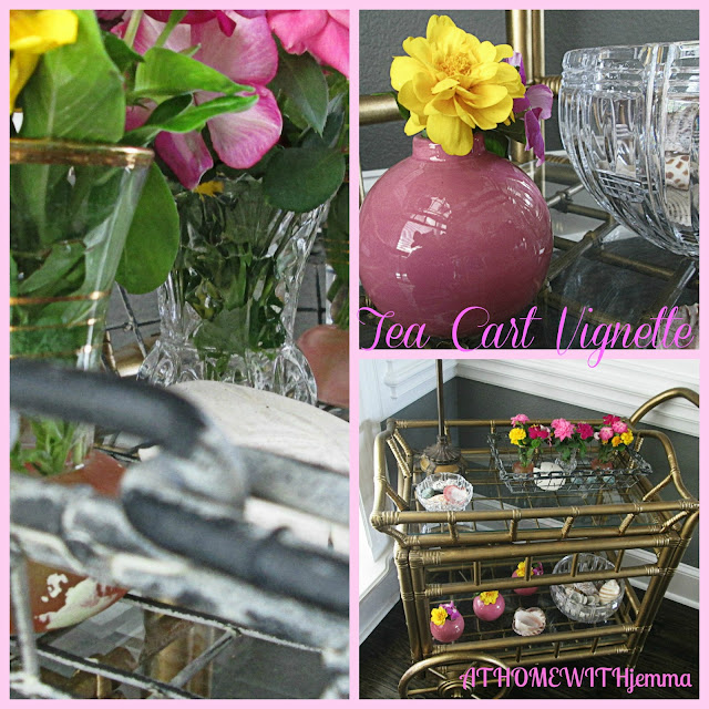 decorating, pink, crystal, flowers, baby shower, bridal shower ideas