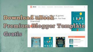 uBook - Permium Blogger Template Gratis