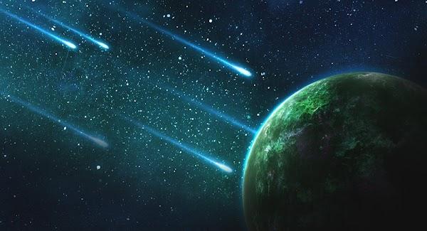 Lluvia De Meteoros Sucedera En La Tierra .