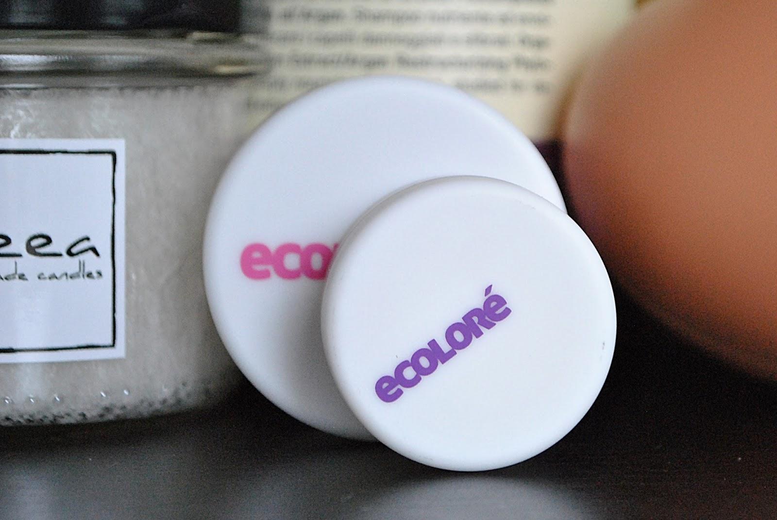 Ecolore mineralny cień do oczu oraz mineralny bronzer