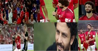 الأهلى يفوز على أياكس الهولندى 1-0 فى إعتزال حسام غالى