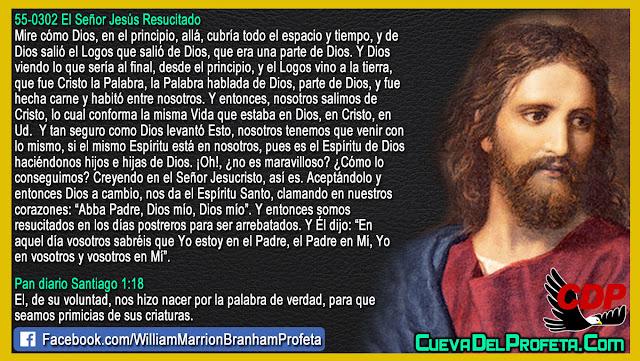 Somos resucitados en los días postreros para ser arrebatados - William Branham en Español