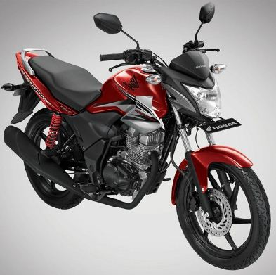Gambar Honda Megapro Warna Merah Sporty