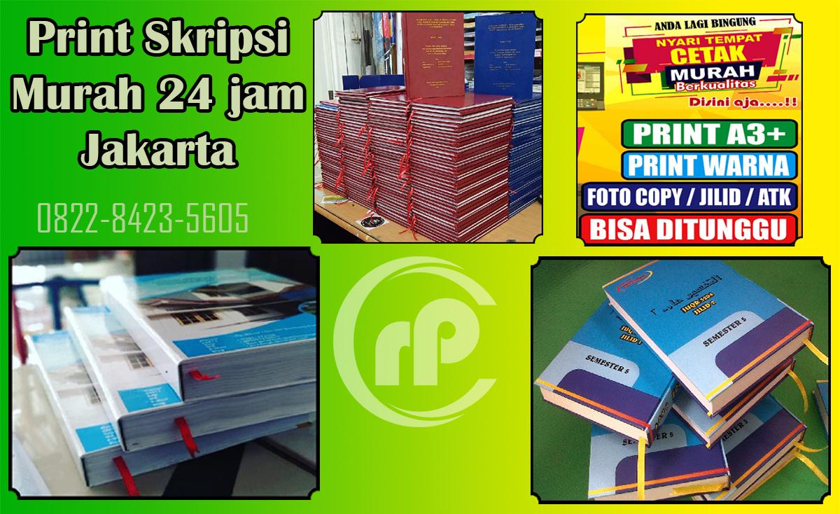 Jasa Print Skripsi Murah 24 Jam Matraman Jakarta Pusat