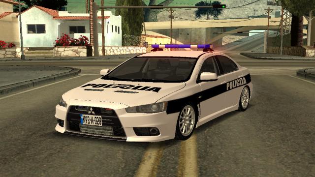 MTA:SA Mitsubishi Polis Aracı Scripti