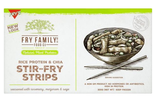 Fry's Rice Protein + Chia Stir-Fry Strips