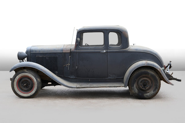 1932 Ford 5W Coupe Barn Find