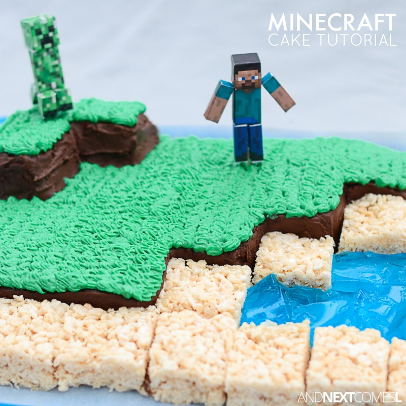 Minecraft Cake And Next Comes L