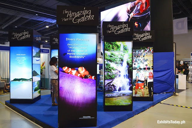 The Amazing Puerto Galera Exhibit Booth