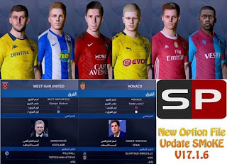 PES 2017 OF Update 03.01 by EsLaM For SMoKE Patch 17.1.6