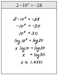 Solving exponential equations worksheet algebra 1