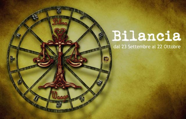 SEGNI ZODIACALI: BILANCIA, dal 23 Settembre al 22 Ottobre