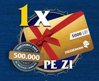 Castiga instant vouchere eMag sau televizoare Samsung + zilnic carduri cadou Dedeman - concurs - bere - timisoreana - 2019 - premii - doza - castiga.net