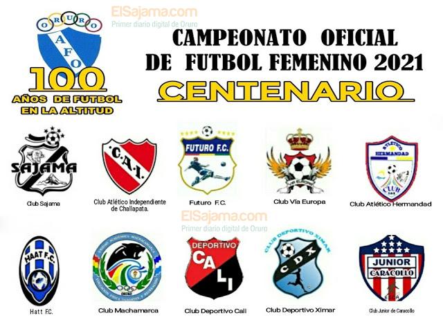 Torneo de futbol femenino Oruro