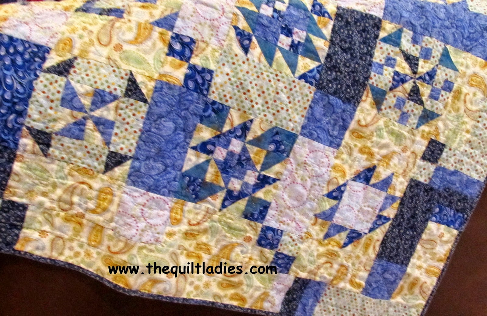 quilt pattern eBook, crazy man quilt pattern