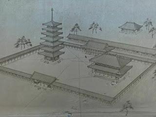 相模国国分寺復元図