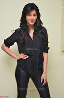 Shruti Haasan Looks Stunning trendy cool in Black relaxed Shirt and Tight Leather Pants ~ .com Exclusive Pics 040.jpg