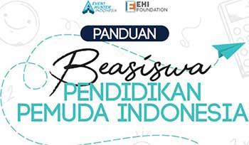 Panduan dan cara daftar beasiswa PPI Event hunter indonesia