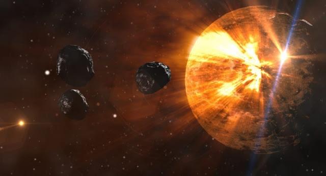 Un par de asteroides se dirigen a la Tierra, uno tiene una órbita que cruza la Tierra