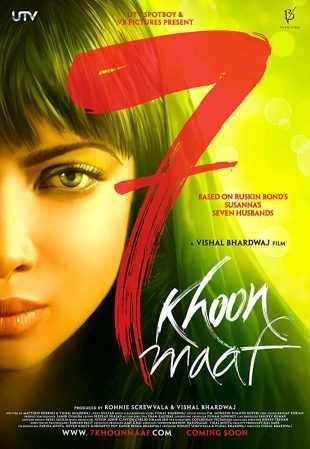 7 Khoon Maaf 2011 Full Hindi Movie Download HDRip 720p