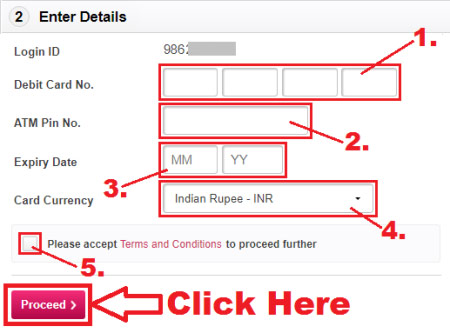 how to reset axis bank internet banking login password
