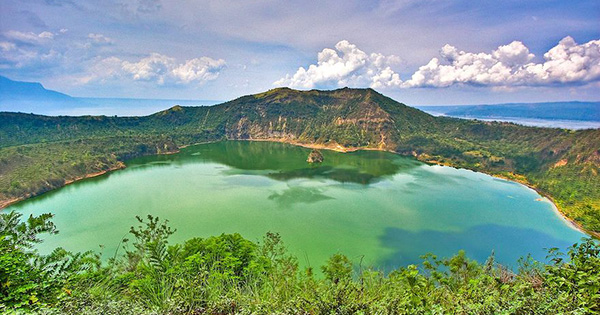 Taal Lake in Tagaytay, Philippines
