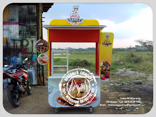 produksi gerobak custom