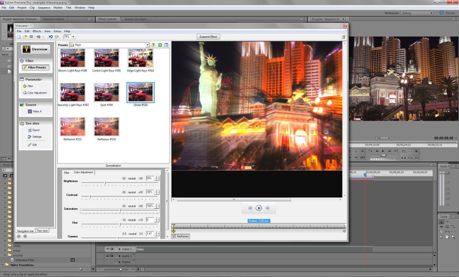 700+ proDAD VitaScene Transition Effects Plugin For Premiere