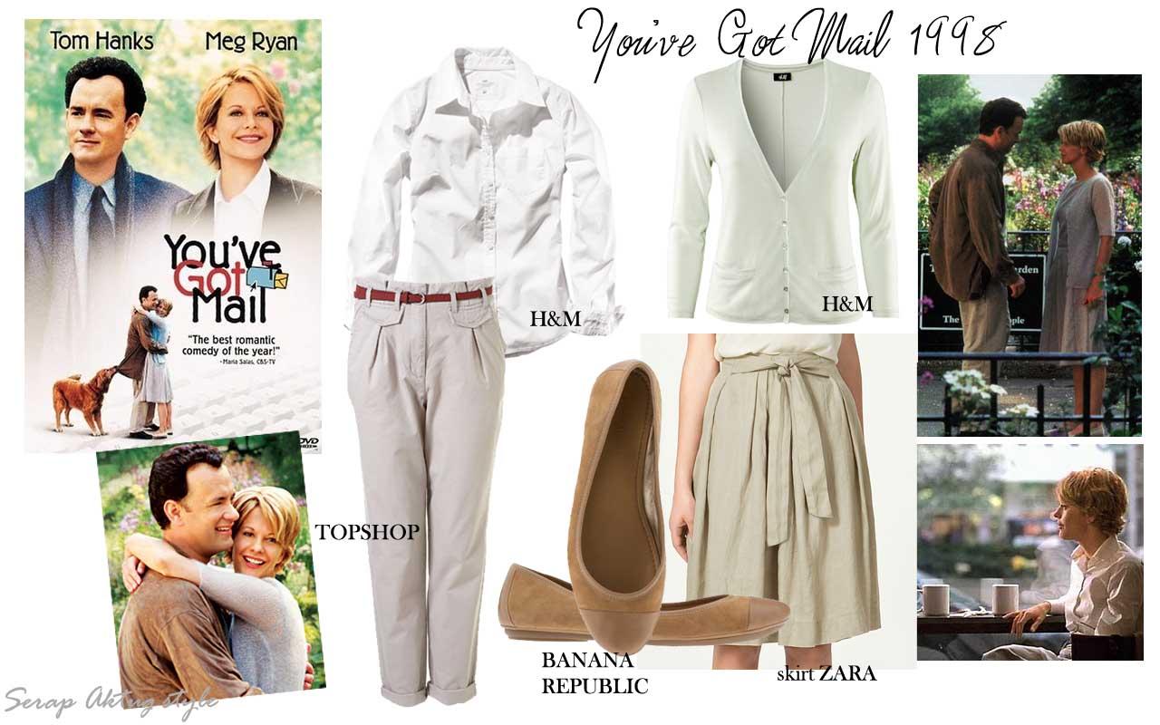 Serapaktugleathergoods You Ve Got Mail Meg Ryan Dress Style