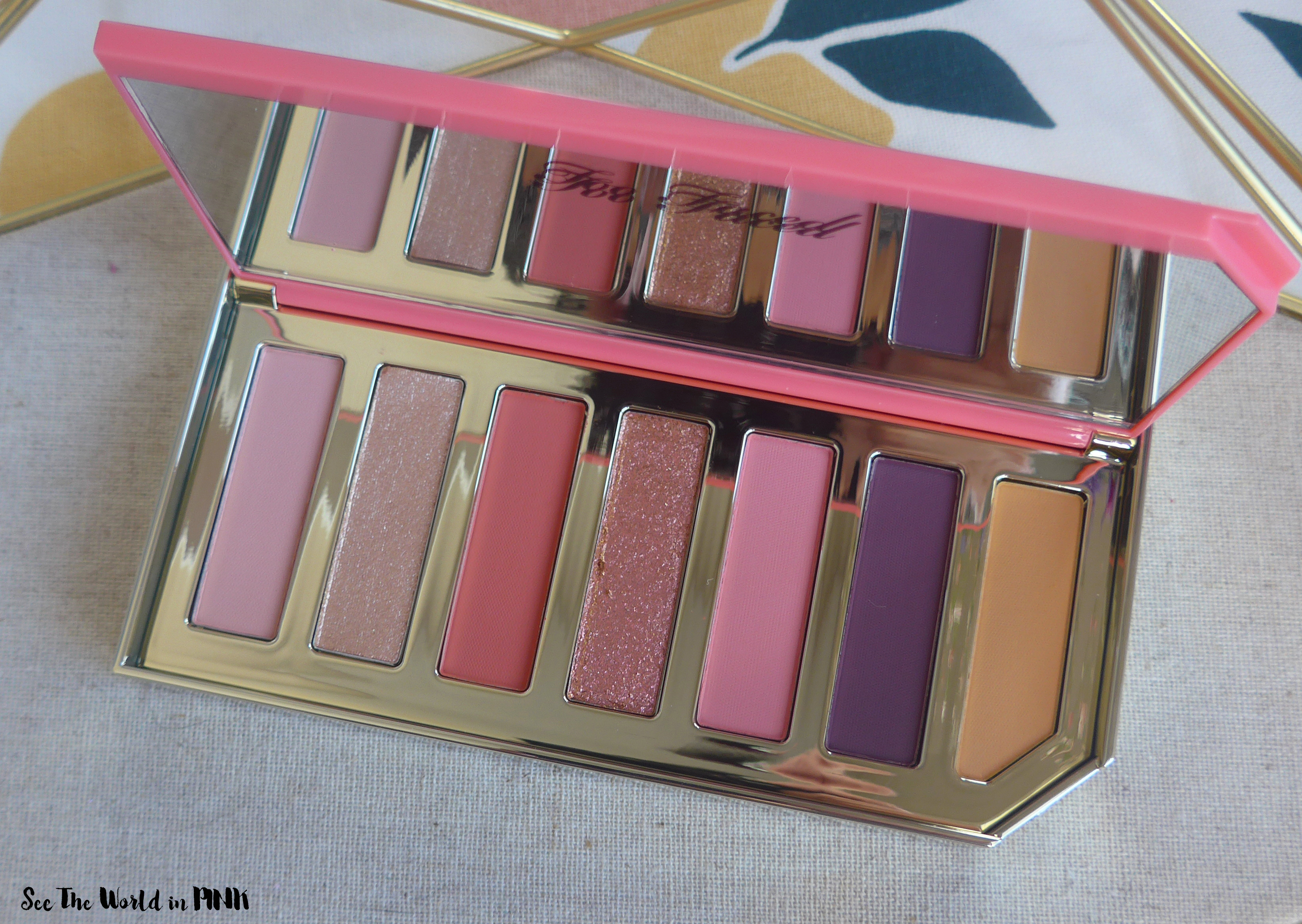 Too Faced Papaya Pop Eye Shadow Palette - Tutti Frutti Collection