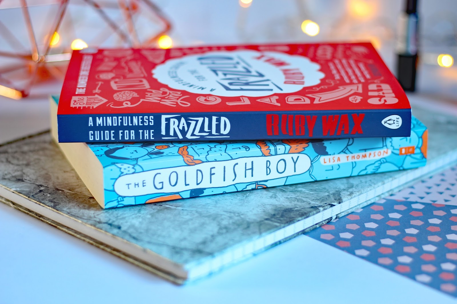 Mental Health Favourites  mental illness books help advice Goldfish boy review Ruby Wax Frazzled mindfulness