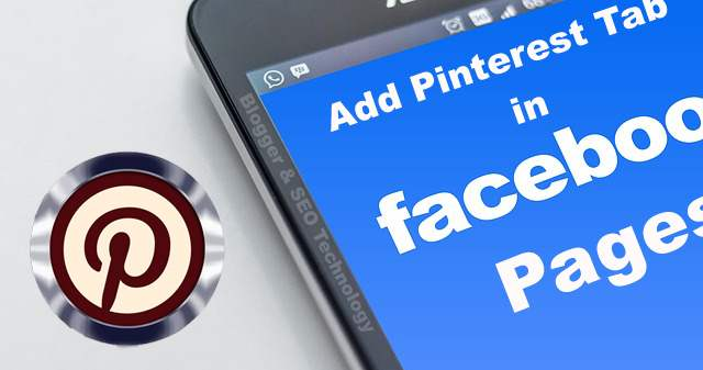 how to add pinterest tab in facebook page