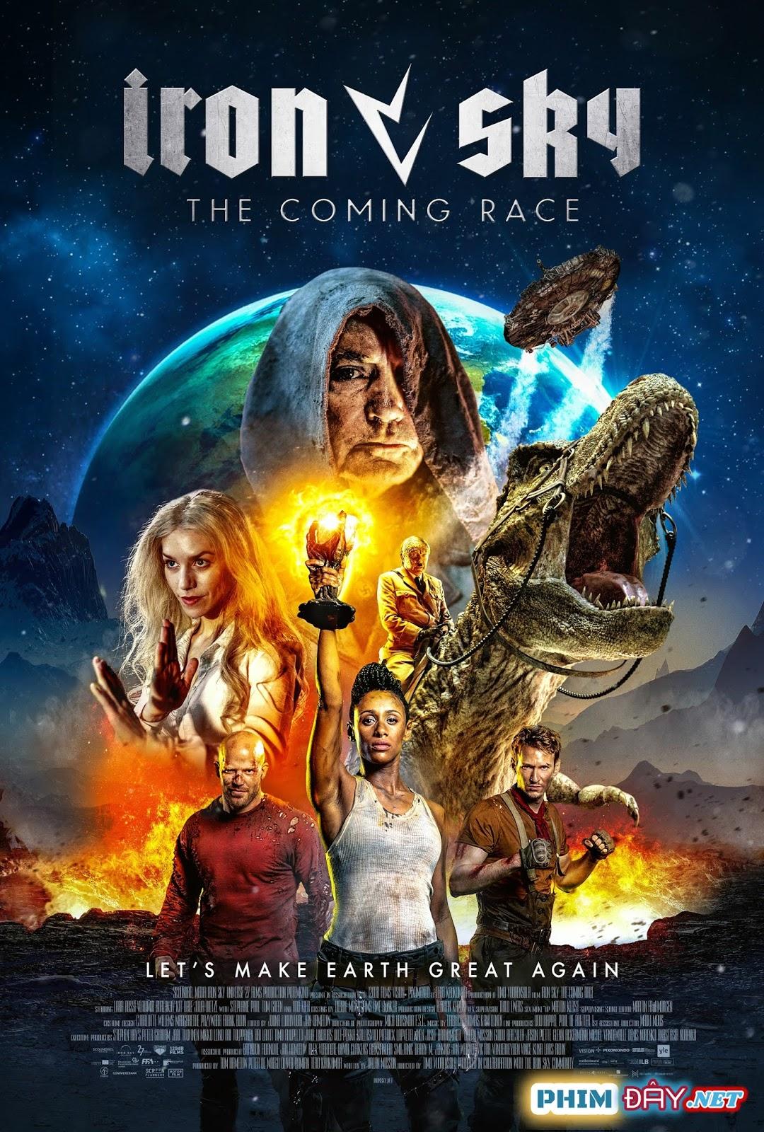 BẦU TRỜI THÉP 2: KHỦNG LONG TRỖI DẬY - Iron Sky 2: The Coming Race (2019)
