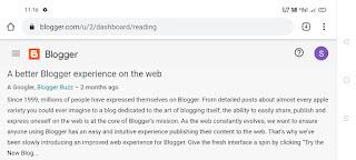 Blogger New Interface - Sunny Sharma