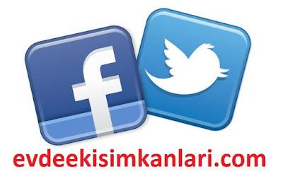 Twitter'dan ya da Facebook'tan Ek Gelir Nasıl Elde Ederiz?