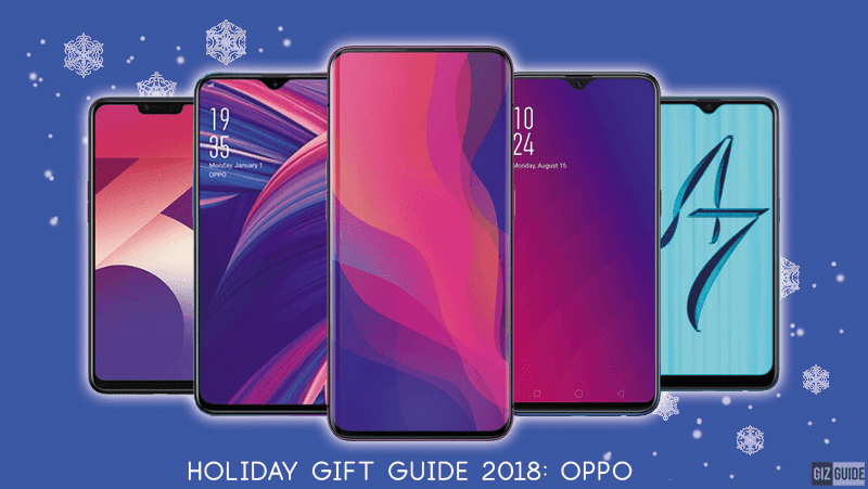 Holiday Gift Guide 2018: What's the right OPPO device for you?